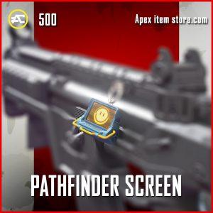 Pathfinder screen Charm epic apex legends skin