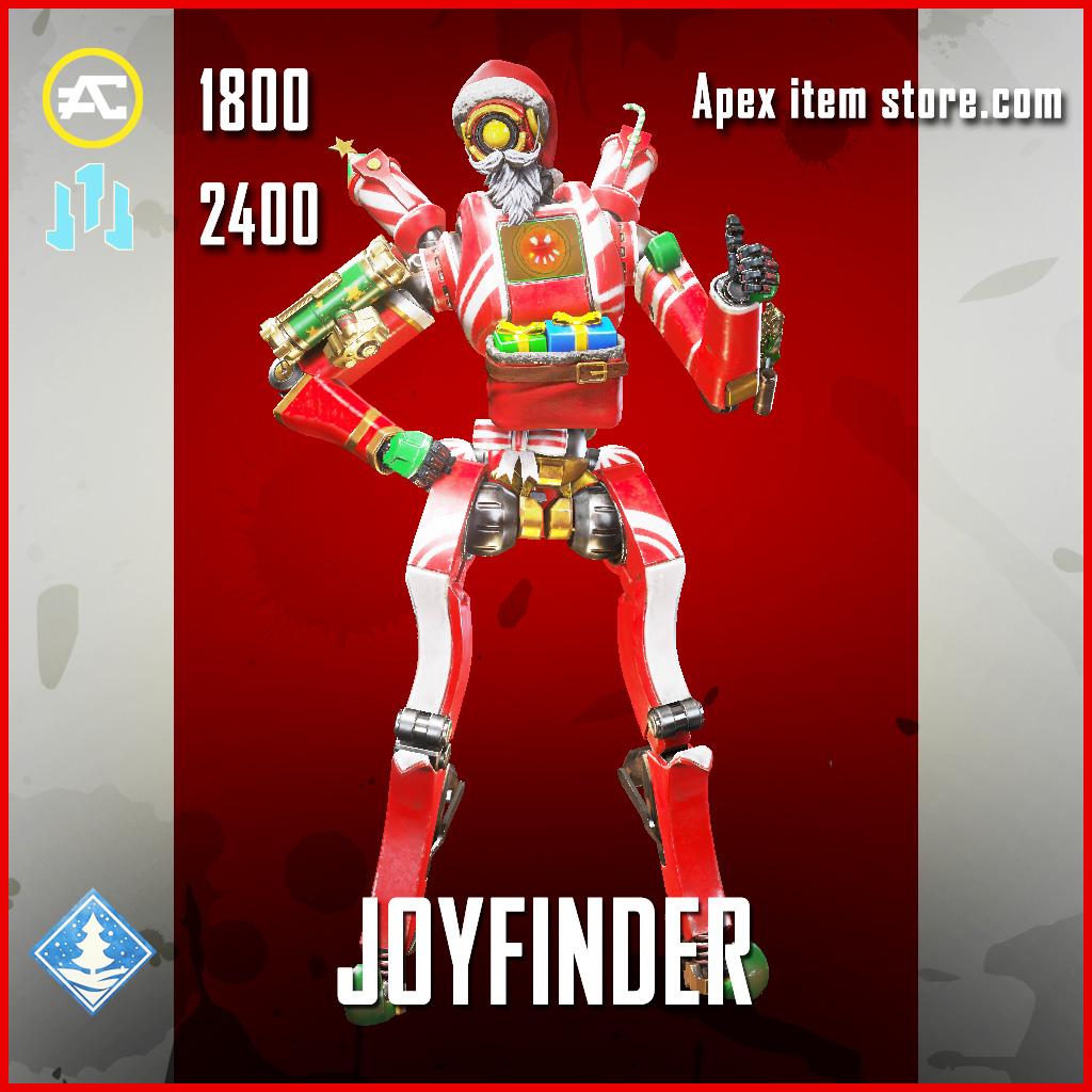 Joyfinder Pathfinder Legendary Apex Legends skin