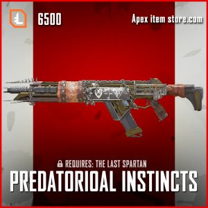 Predatorial Instincts R-301 legendary apex legends skin