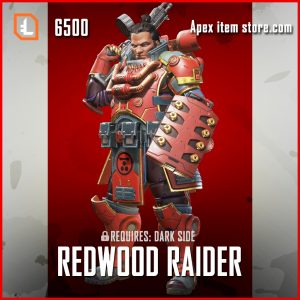 Redwood Raider gibraltar legendary apex legends skin