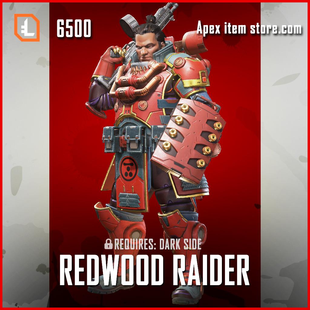 Redwood Raider gibraltar legendary apex legends skin