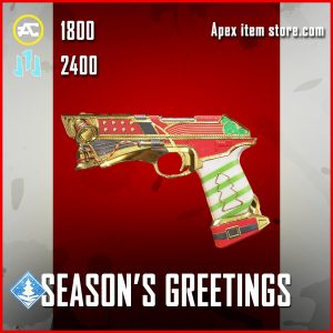 Season's Greetings P2020 legendary apex legends skin