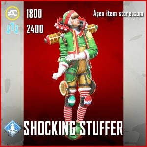 Shocking Stuffer Wattson Legendary Apex Legends skin
