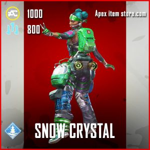 Snow Crystal Lifeline Epic Apex Legends skin