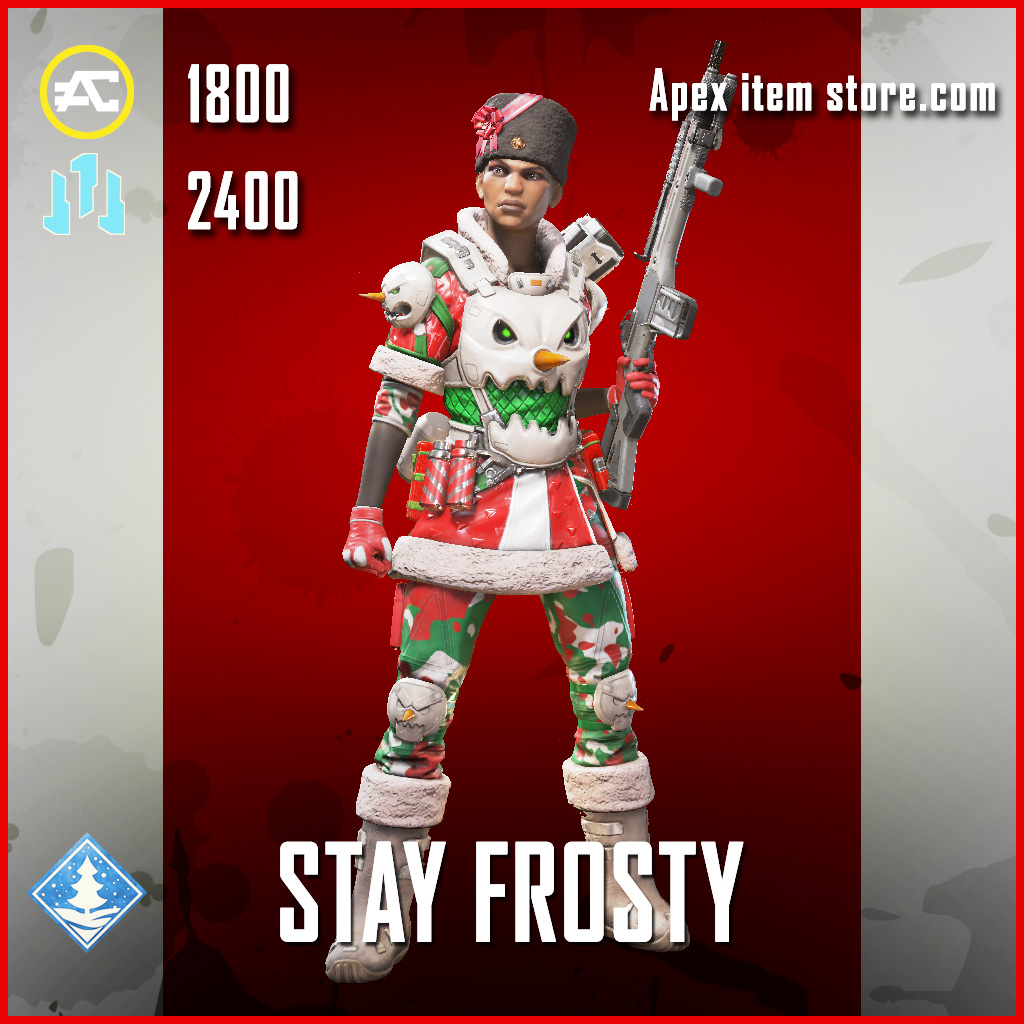 Stay Frosty Bangalore Legendary Apex Legends skin