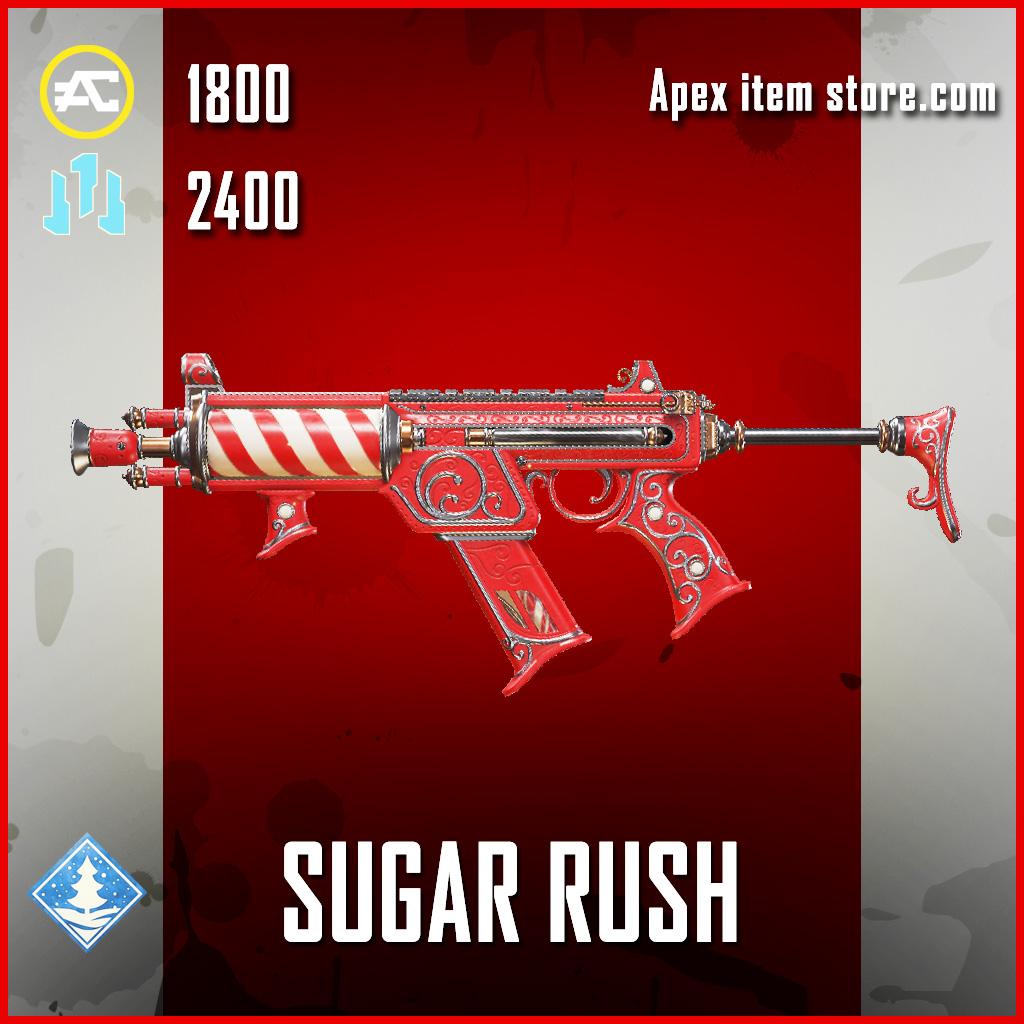 Sugar RUsh R-99 legendary apex legends skin