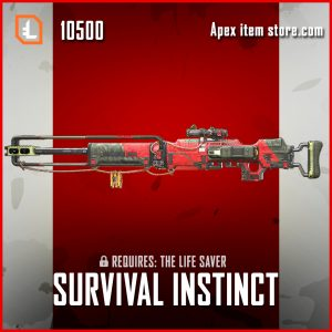 Survival Instinct Kraber legendary exclusive apex legends skin