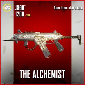 The Alchemist R-99 legendary apex legends skin