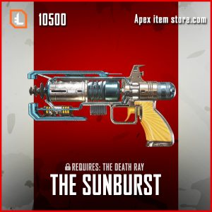 The sunburst wingman legendary apex legends skin