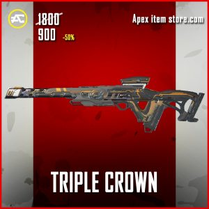 Triple Crown Triple Take legenary apex legends skin