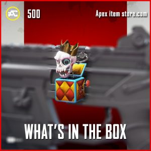 what's in the box epic charm apex legends