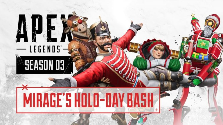 Mirage's Holo-Day Bash Collection Event