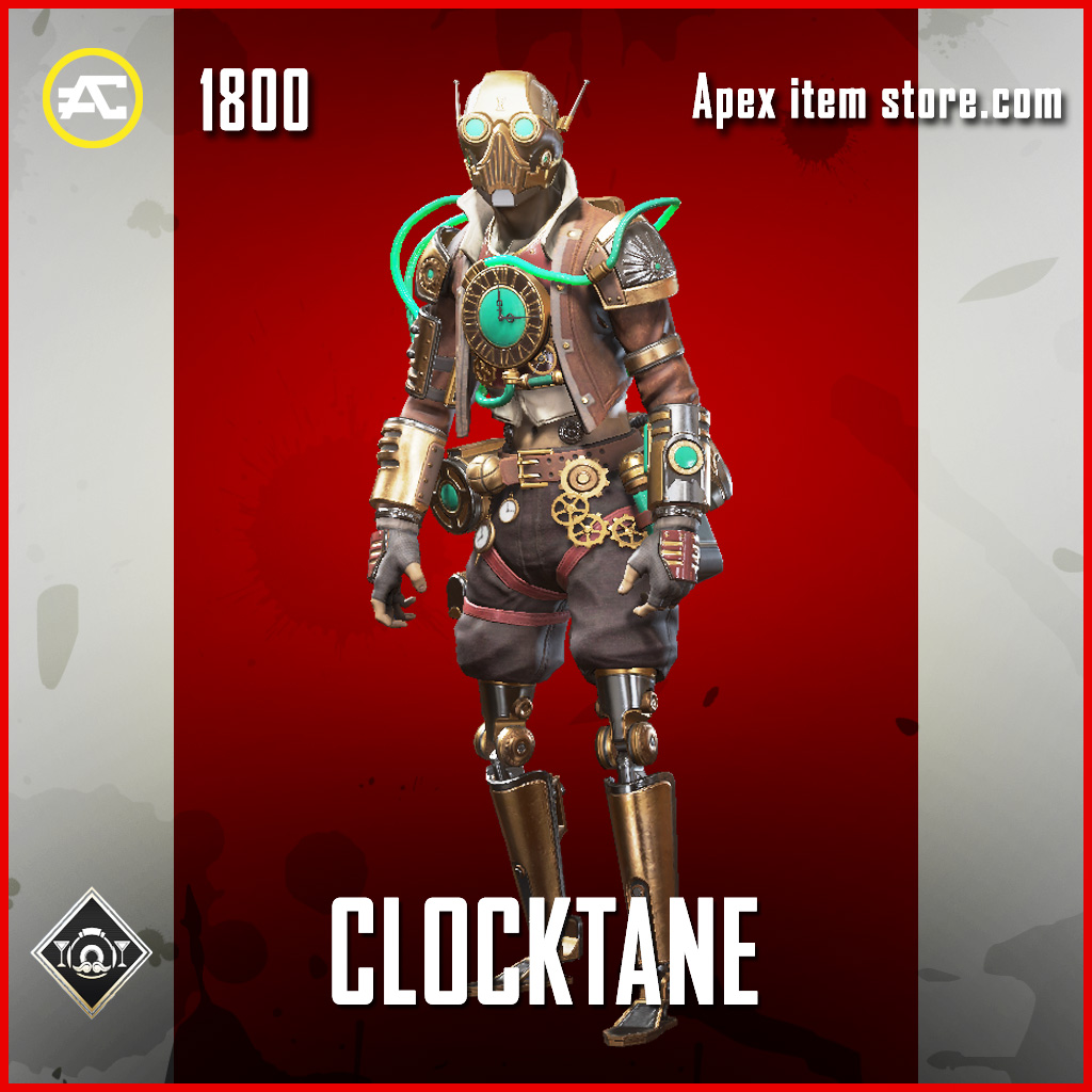 Clocktane octane legendary apex legends skin