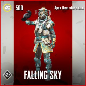 Falling Sky skin rare bloodhound apex legends