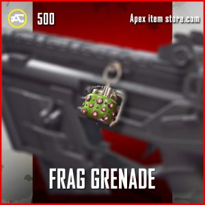 Frag Grenade epic charm apex legends
