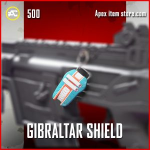 Gibraltar shield epic apex legends charm