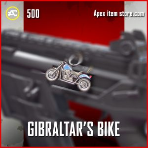 Gibraltar's Bike epic charm apex legends