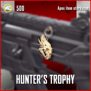 Hunter's Trophy epic apex legends charm