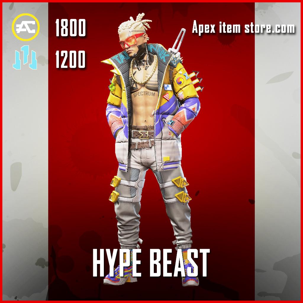 Hype Beast crypto skin legendary apex legends item