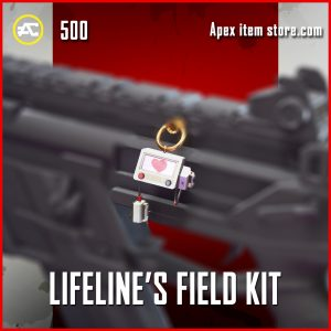 Lifeline's Field Kit epic charm apex legends