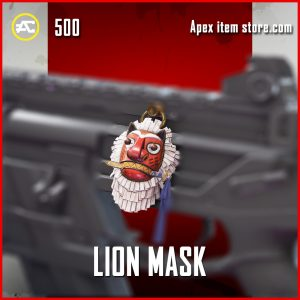 Lion Mask rare apex legends charm