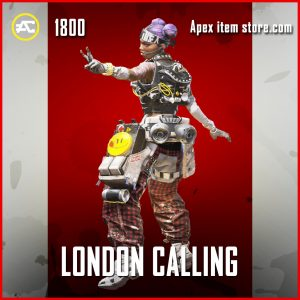 London calling lifeline legendary apex legends skin