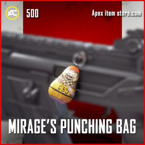 Mirage's Punching bag epic apex legends charm