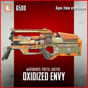 Oxidized Envy L-Star skin legendary apex legends