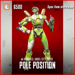 Pole Position Pathfinder skin legendary apex legends