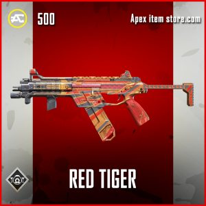 Red Tiger R-99 apex legends rare skin