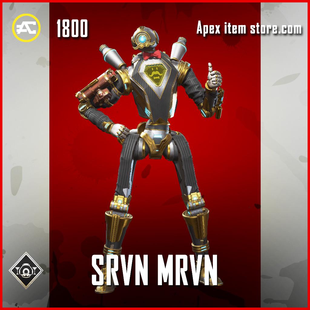 Srvn Mrvn skin legendary pathfinder apex legends