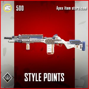 Style Points G7 Scout rare apex legends skin
