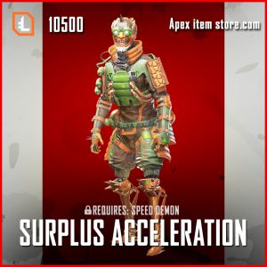 Surplus Acceleration octane apex legends skin