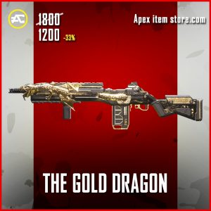 The GOld dRagon G7 Scout apex legends skin