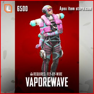 Vaporwave wattson legendary apex legends skin