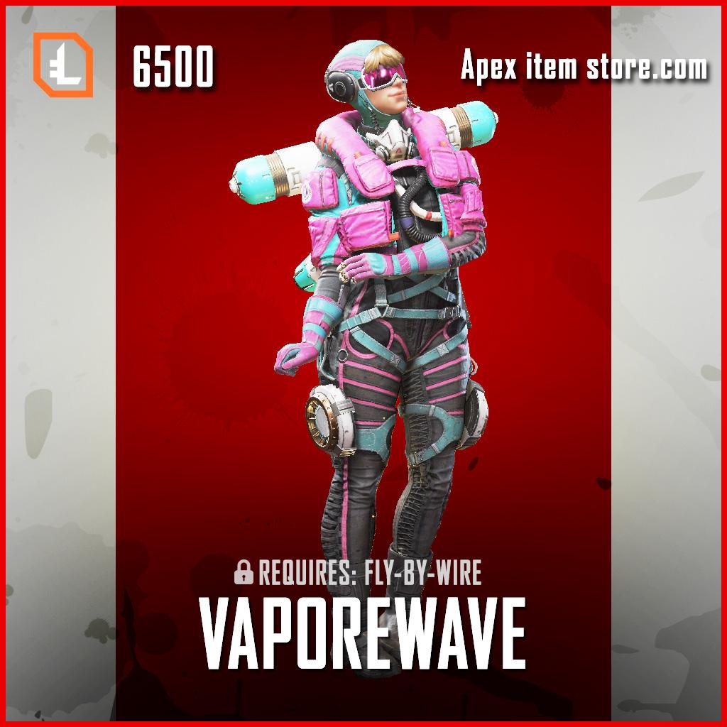 Vaporwave wattson legendary apex legends skin