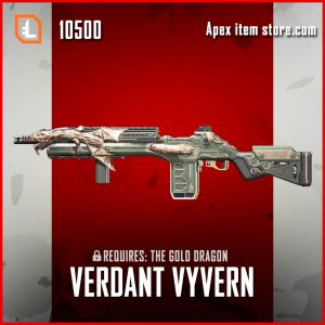 Verdant Wyvern G7 Scout apex legends skin