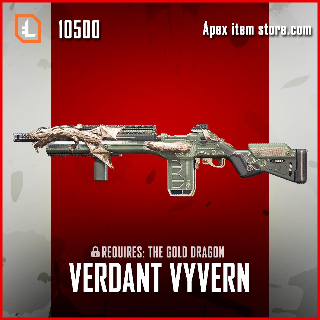 Verdant Wyvern G7 Scout apex legends skin