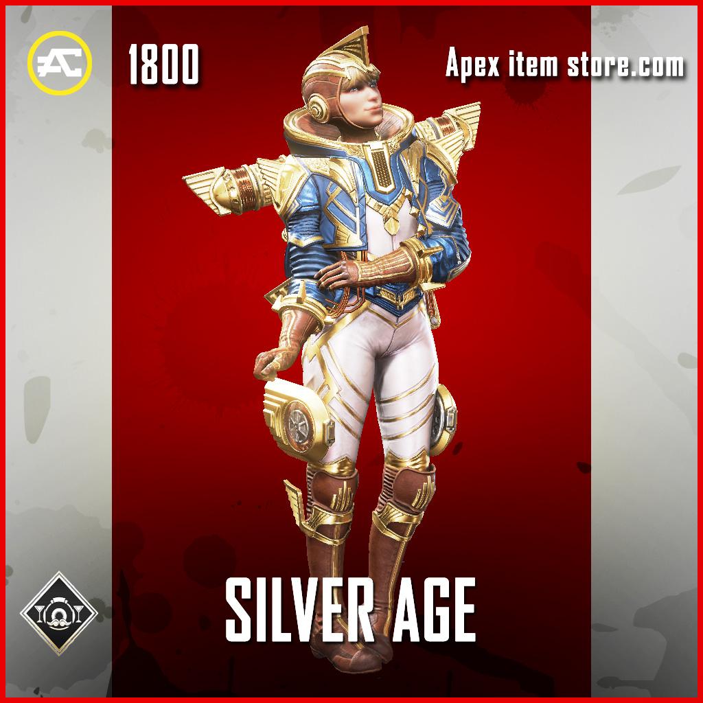 Silver Age Wattson Legendary apex legends skin