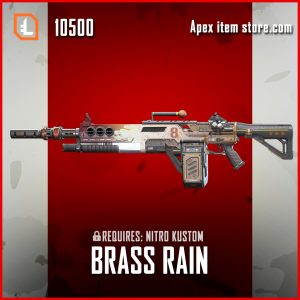 Brass Rain Devotion skin legendary apex legends item