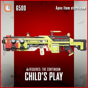 Child's Play Spitfire legendary apex legends skin