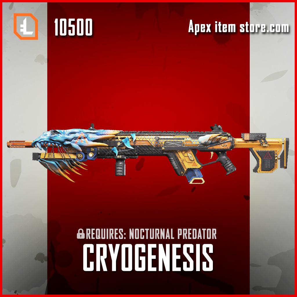 Cryogenesis longbow exclusive legendary apex legends skin