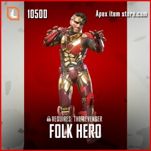 Folk hero exclusive mirage skin apex legends item