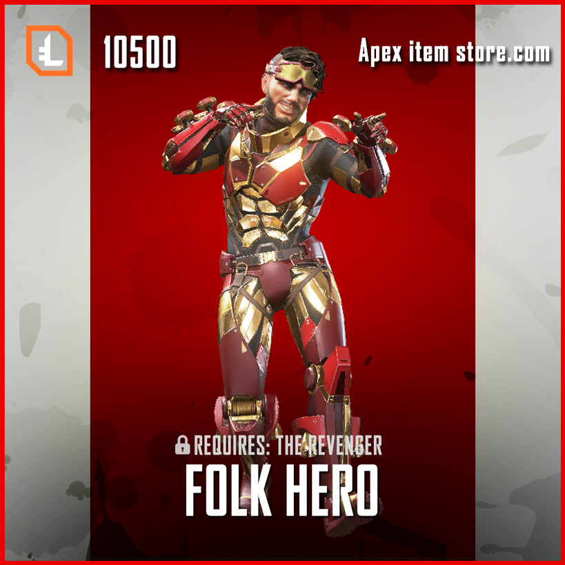 Folk hero exclusive mirage skin apex legends item