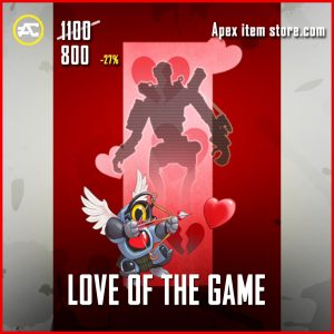 Love of the game legendary banner