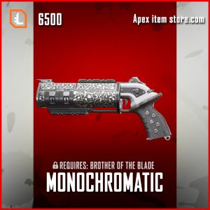 Monochromatic Mozambique legendary exclusive apex legends skin