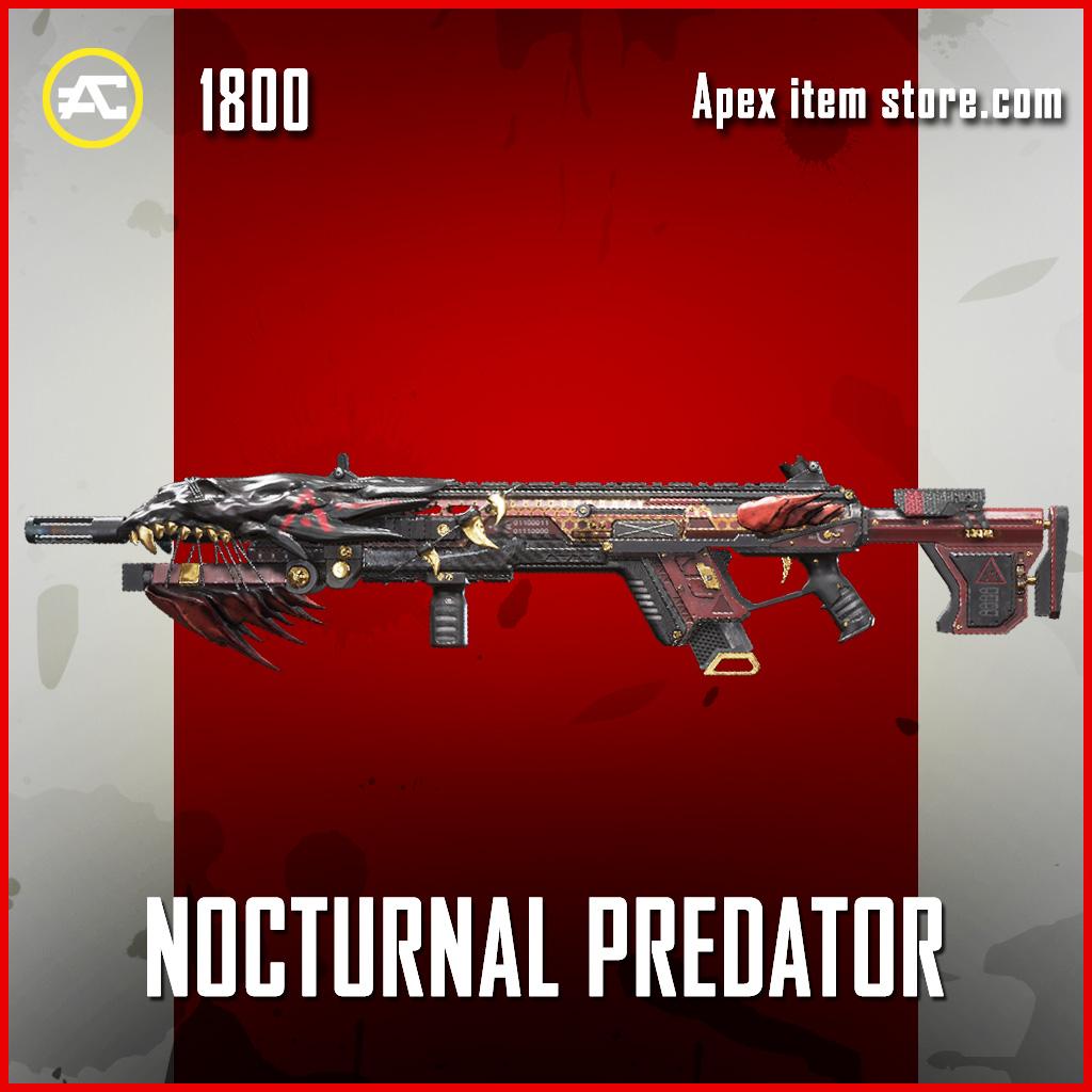 Nocturnal Predator longbow legendary apex legends skin