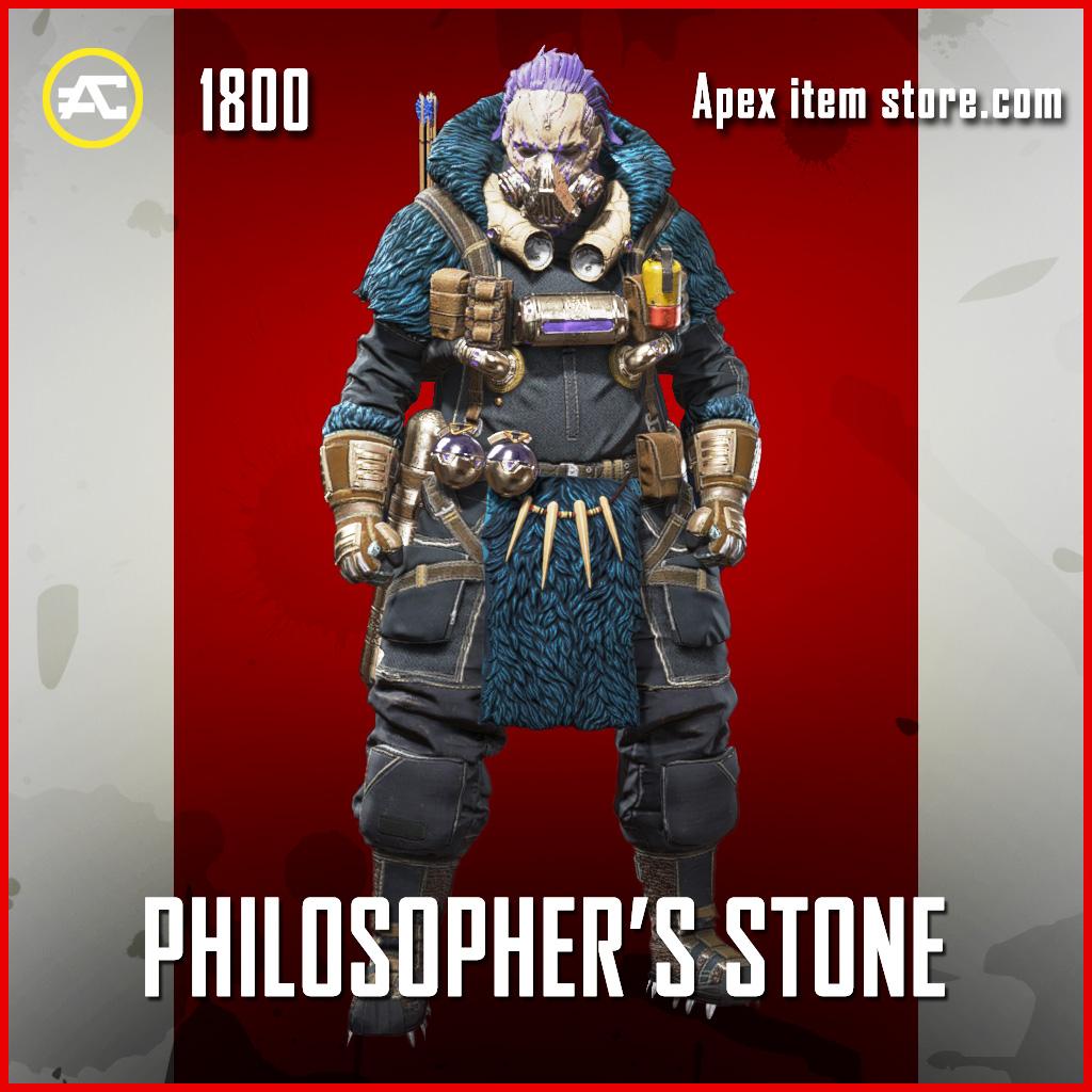 Philosopher's Stone Caustic skin legendary apex legends item