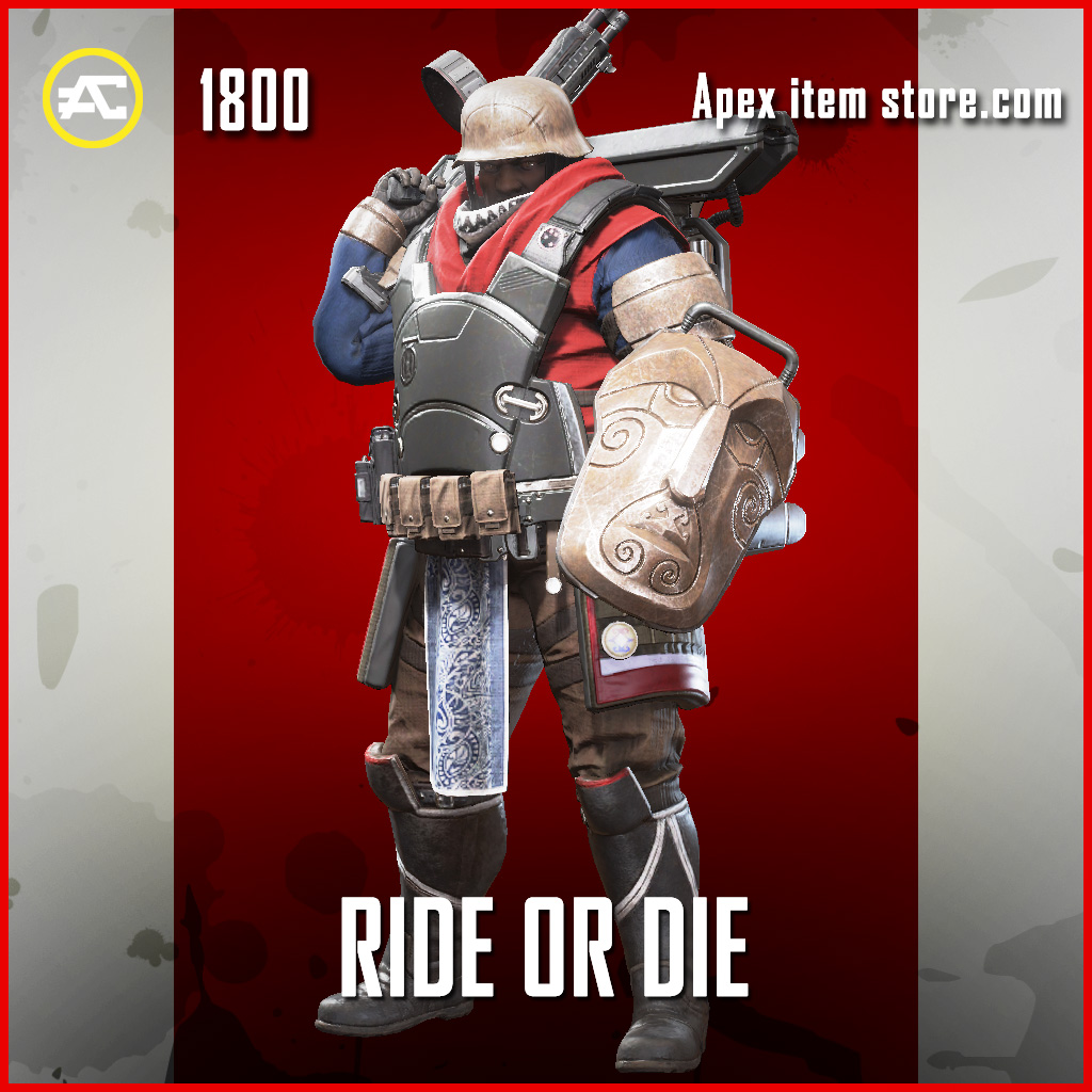 Ride or Die gibraltar skin legendary apex legends item