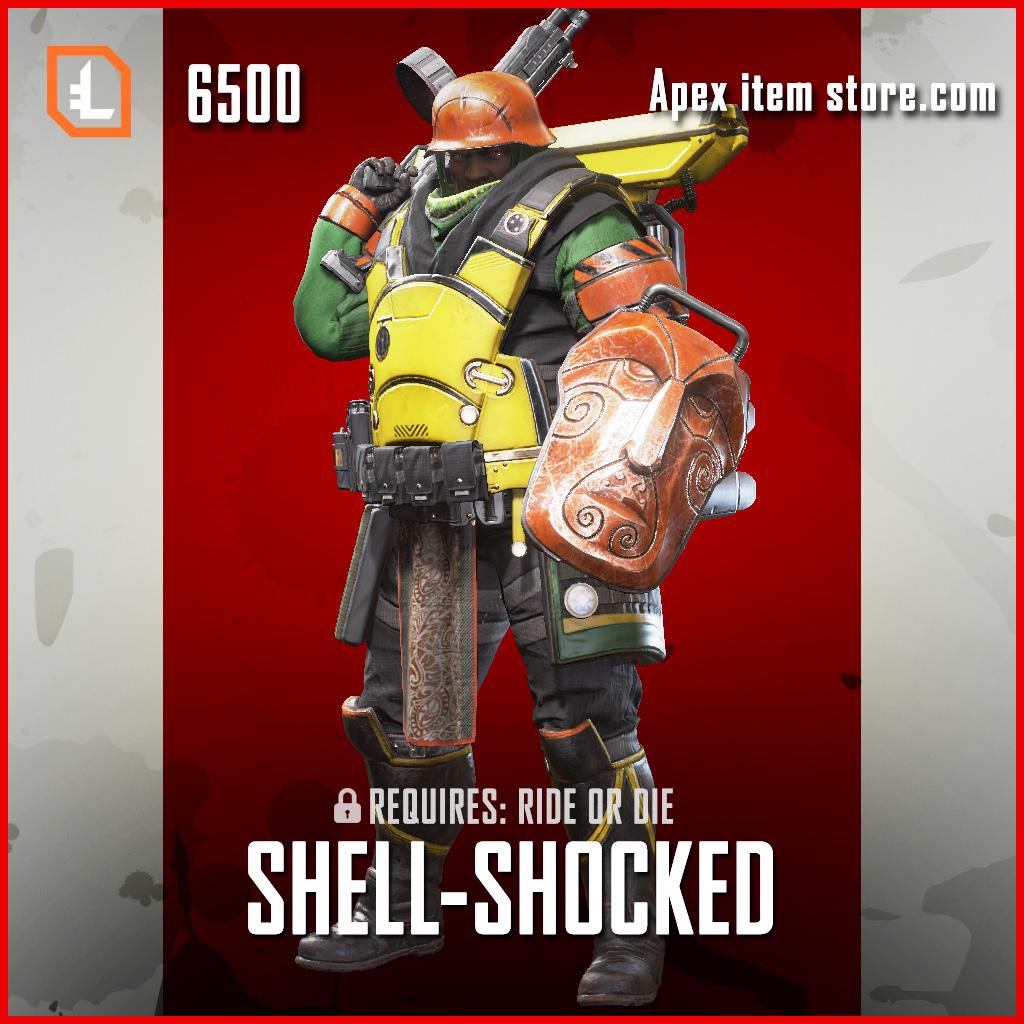 Shell-Shocked gibraltar skin exclusive legendary apex legends item